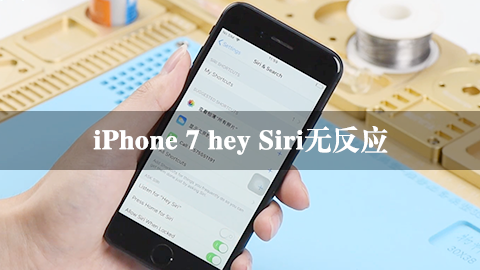 iPhone 7 hey Siri无反应
